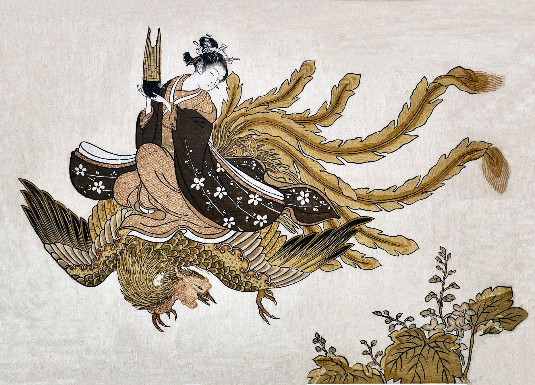 画は 鈴木 春信(すずき はるのぶ) 享保10年(1725年)? ~ ... やっと春めく