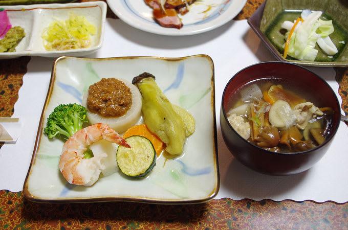 唐沢鉱泉・夕食