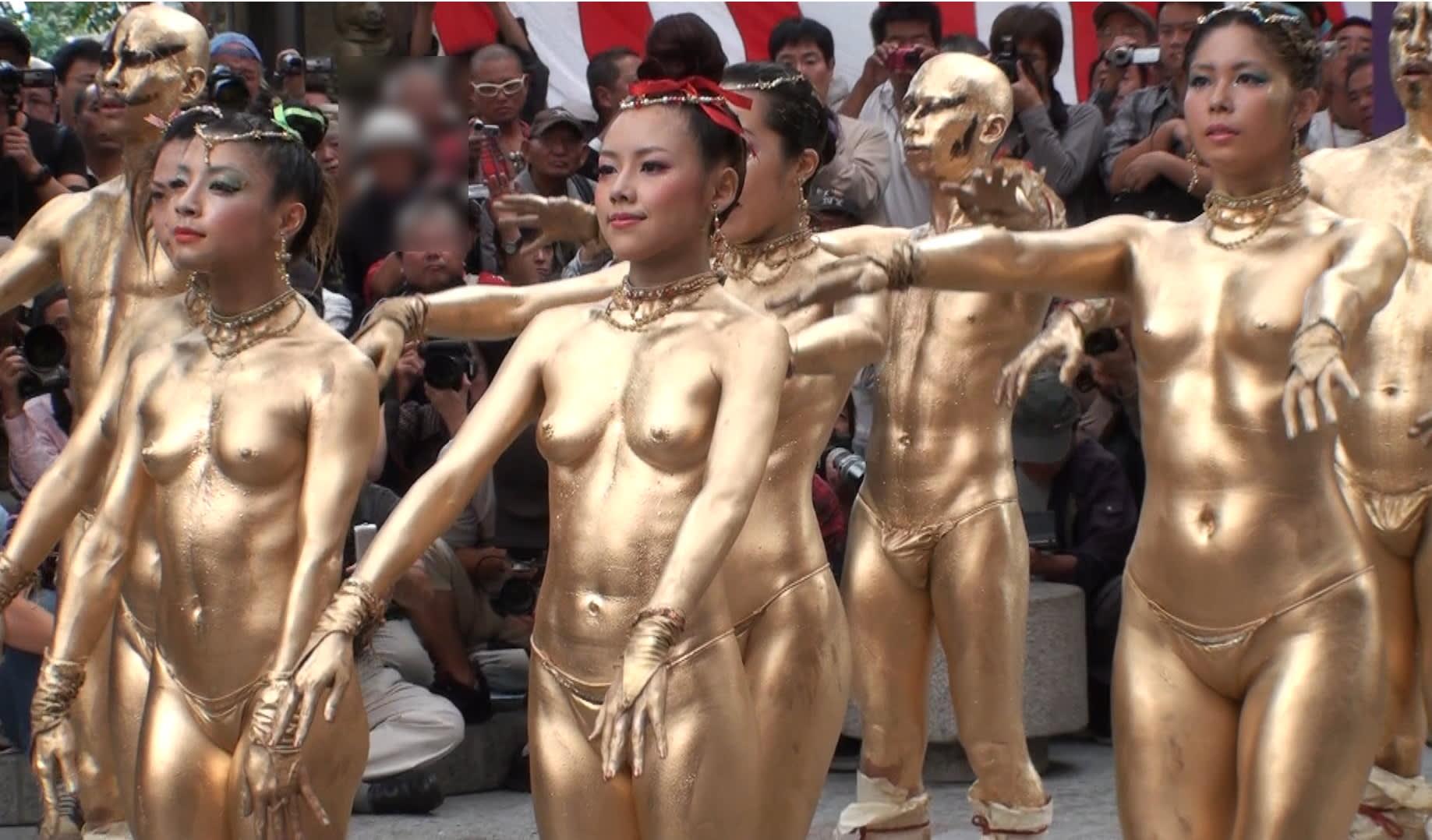 金粉ショー 盗撮 金粉ショー @ 大須大道町人祭 Oct 14 2012 #93