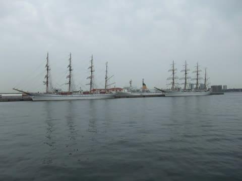 日本丸と海王丸