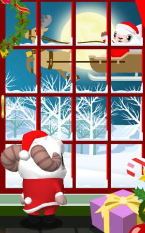 2013年クリスマスの時よりもソリが豪華に!