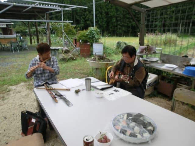 嶋田さん(篠笛)
