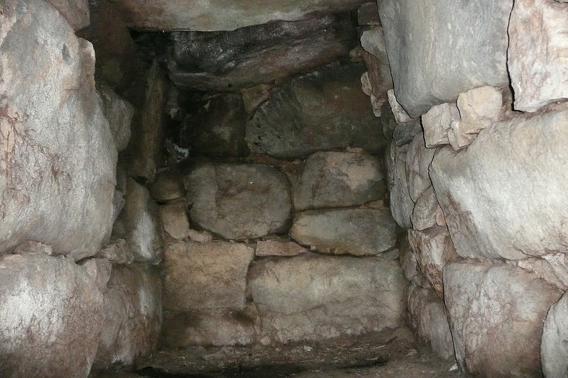 池の谷1号墳石室