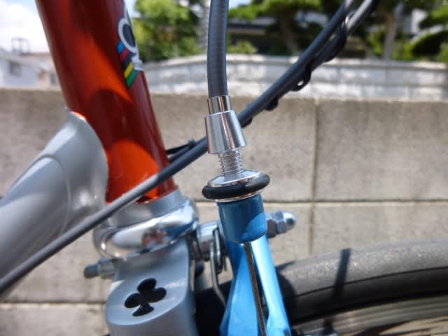 自転車の 自転車 調整 ブレーキ : ブレーキの調整をします COLNAGO ...