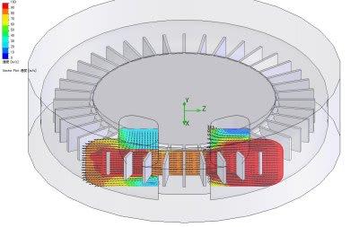 渦流ブロワの流れ解析 非接触回転式にて高圧可能な送風機 - 流体機械設計と流体解析シミュレーション