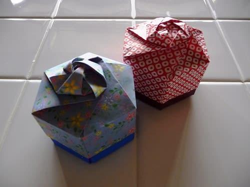 簡単 折り紙 折り紙 箱 六角形 : blog.goo.ne.jp