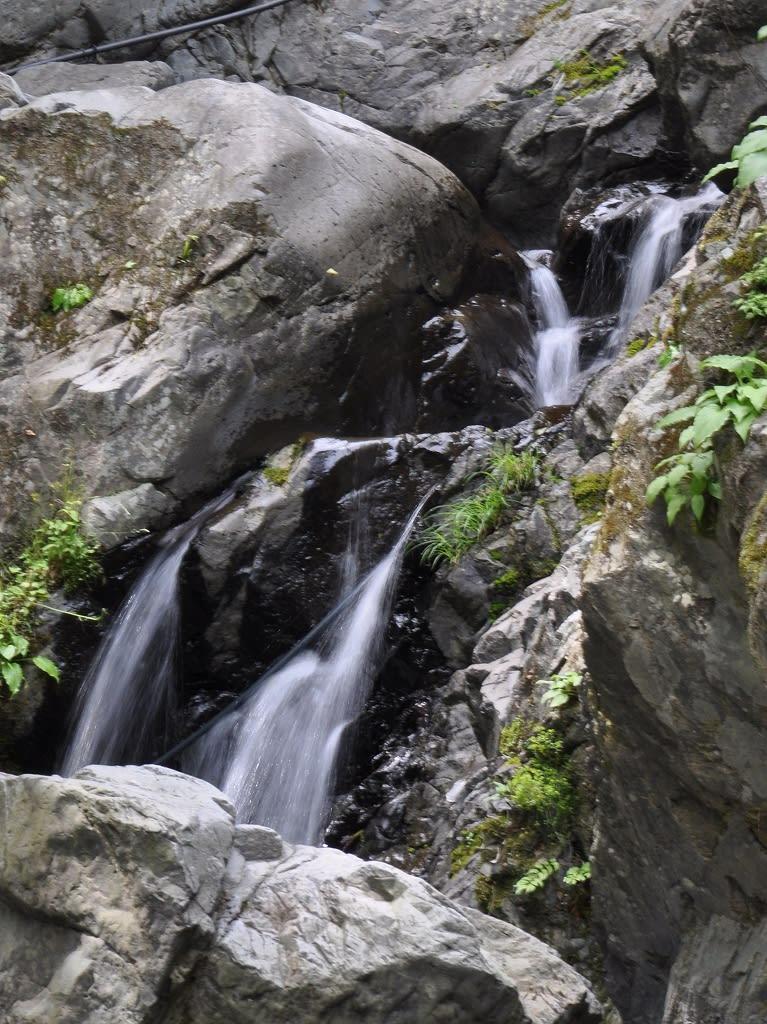 白滝下段左の流れ
