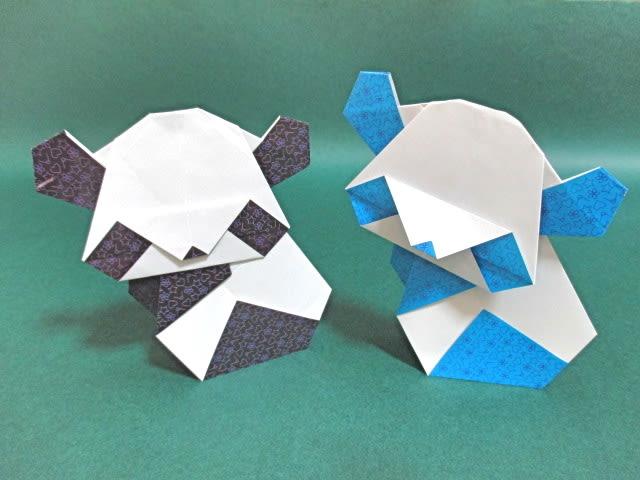 ハート 折り紙 折り紙くま折り方簡単 : blog.goo.ne.jp