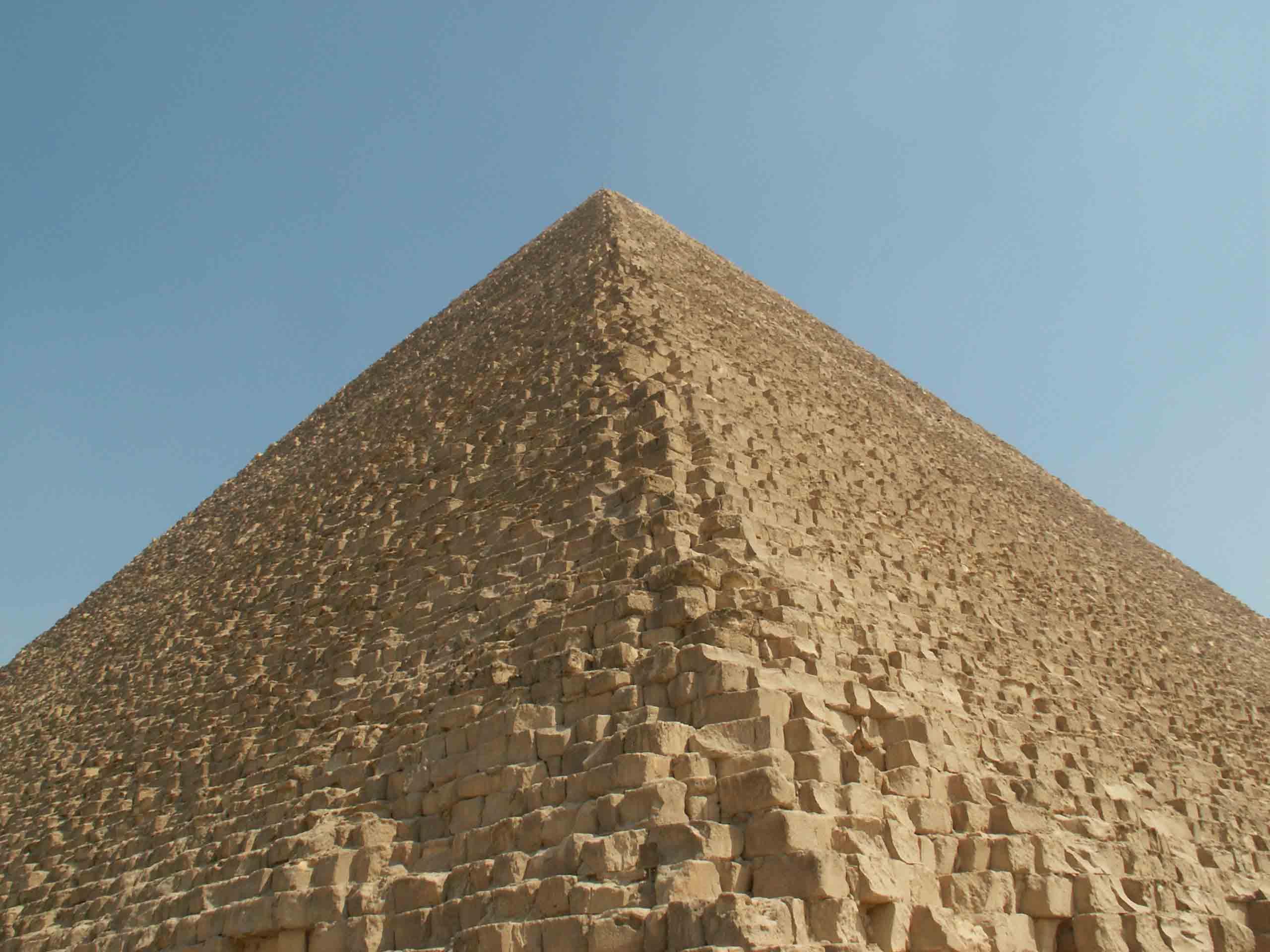クフ王のピラミッド(ギザ/エジ...