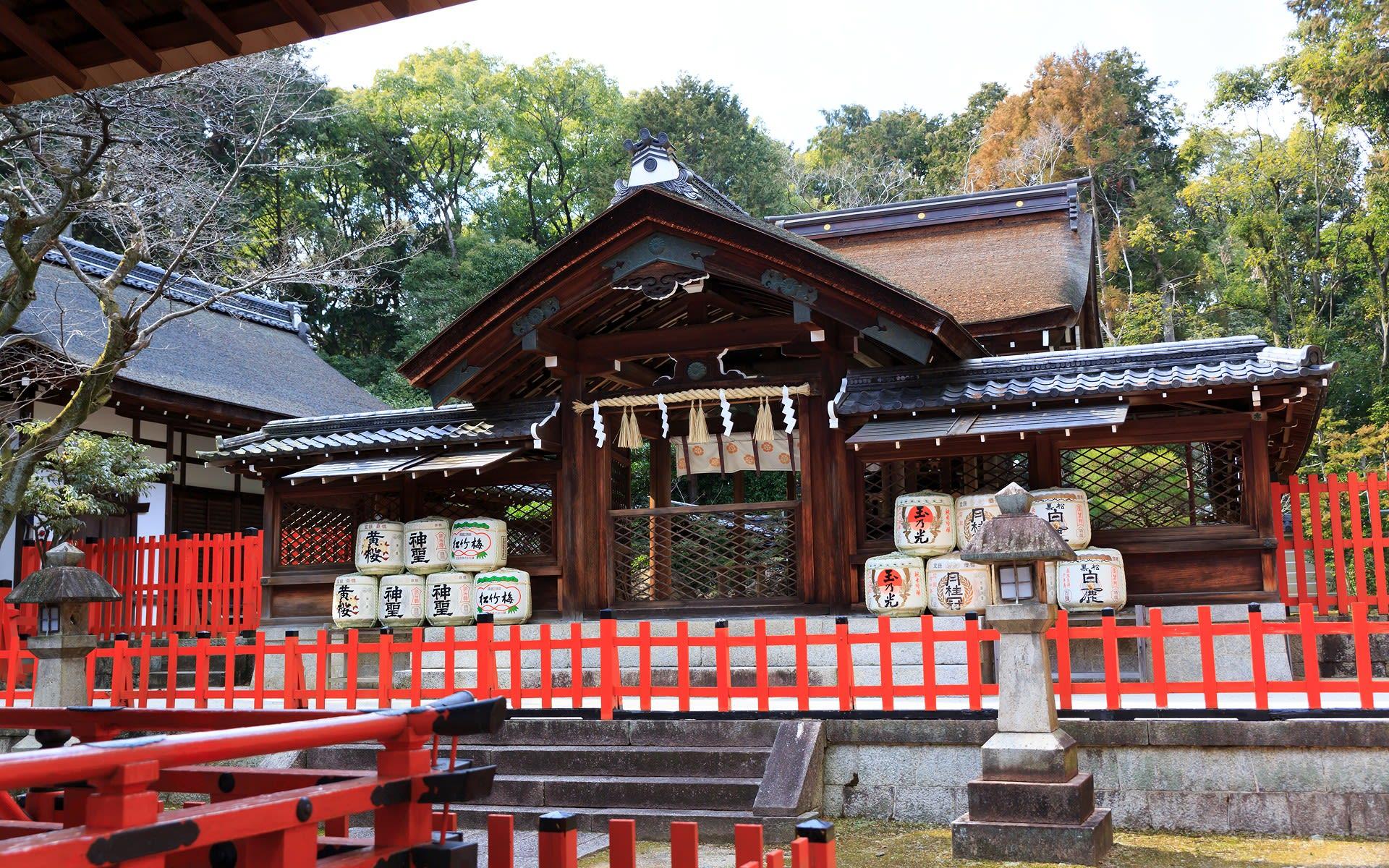 2013年冬の京都・建勲神社の壁紙...