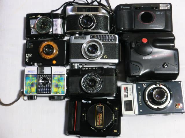 ハーフカメラ大きさ比較 - ゆっ...