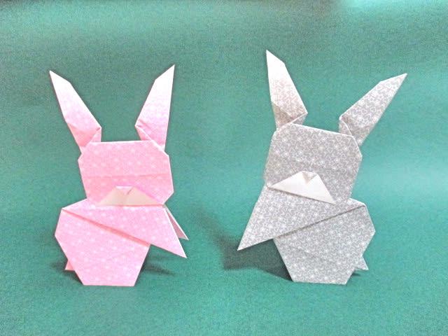 ハート 折り紙 折り紙 うさぎの折り方 : blog.goo.ne.jp