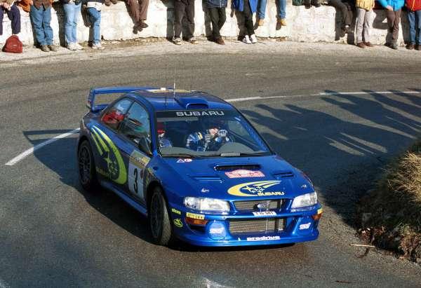 0054 2000 Subaru Impreza Wrc Joker的小車庫