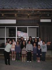 栗林の中のお教室