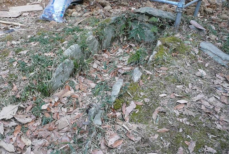 移築されている石棺