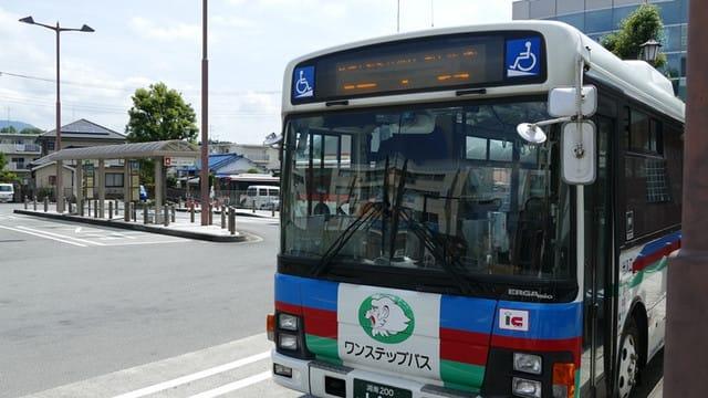 道了尊行きのバス