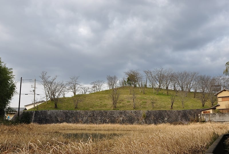 古市城跡丘陵