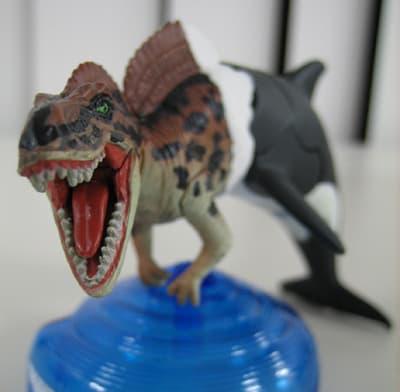 ■「ギガノトサウルス?」+「シャチ」=「ギガマーメード」 恐竜界の人魚...  物作り出来るかな