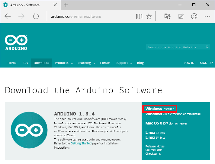 Www.arduino.cc download for mac
