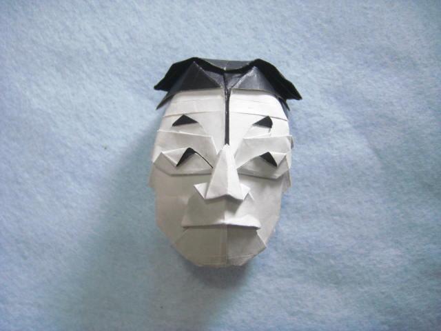 ハート 折り紙 折り紙 顔 折り方 : blog.goo.ne.jp