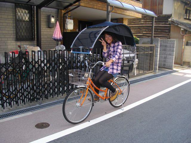 自転車の 子供 自転車 おしゃれ : おしゃれな子供乗せ自転車で ...