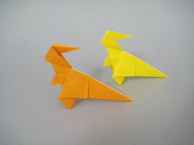 簡単 折り紙 折り紙 折り方 恐竜 : blog.goo.ne.jp