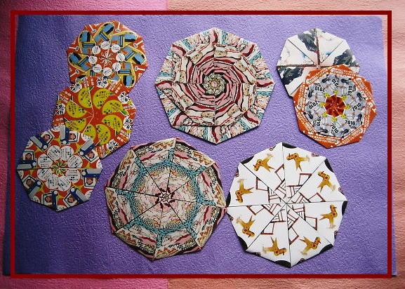すべての折り紙 折り紙 チラシ : 鍋敷き&花瓶敷き - 折紙・遊 ...