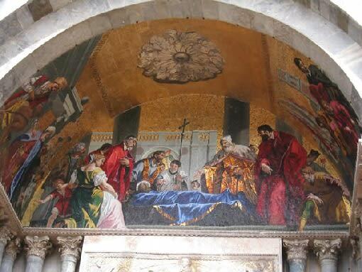 ベネチア「ドゥカーレ宮殿の壁画」