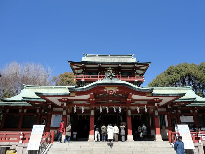 03月27日 富岡八幡本殿