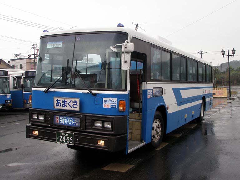 九州産交バス・快速あまくさ号~...