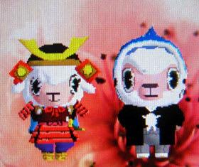 iモード版ではメイドのメイちゃんが武将姿