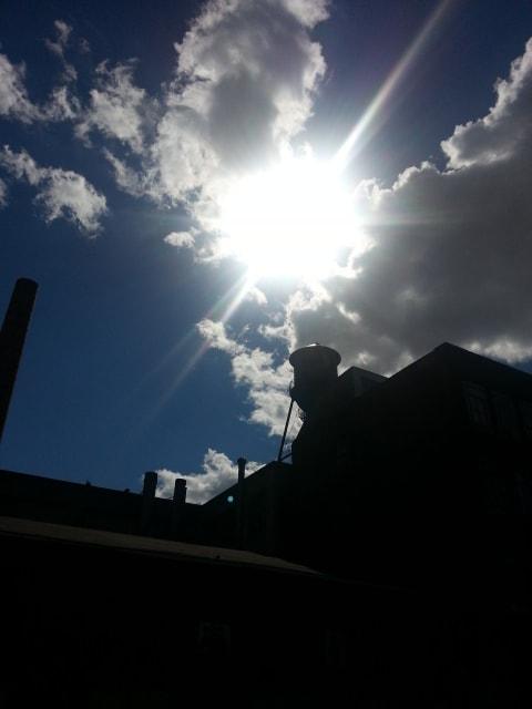 青空に浮かんだ白い雲にお約束〜