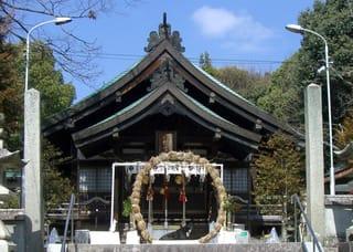 三原八幡宮の社殿