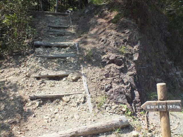 百間滝の入り口