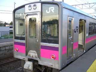 701系@蟹田駅
