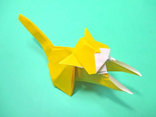 クリスマス 折り紙 折り紙 猫 折り方 : blog.goo.ne.jp