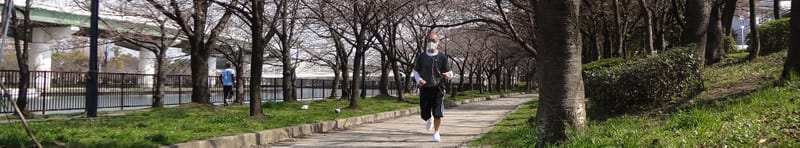 Jackie_jogging_in_cherry_blossom_bu