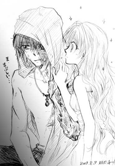 半ゾンビ男とキラキラ少女。