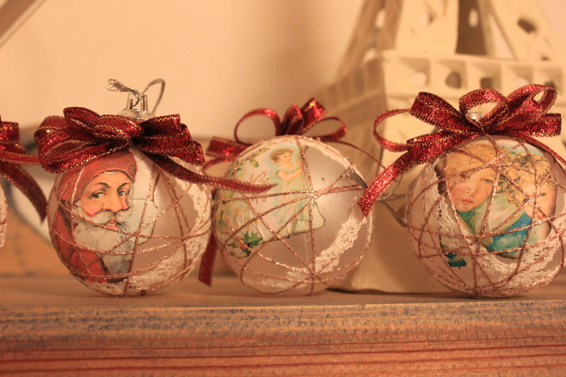 すべての折り紙 網飾り 折り紙 : 心がはずむクリスマス飾り ...