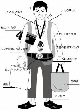 NGファッション 男が「おばさんだな」と感じる女のNGファッション