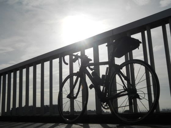 自転車通勤(職場まで) - あぁ ...