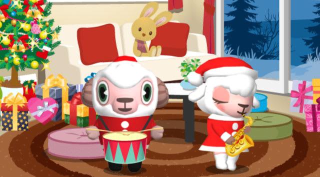 クリスマスの演奏会。