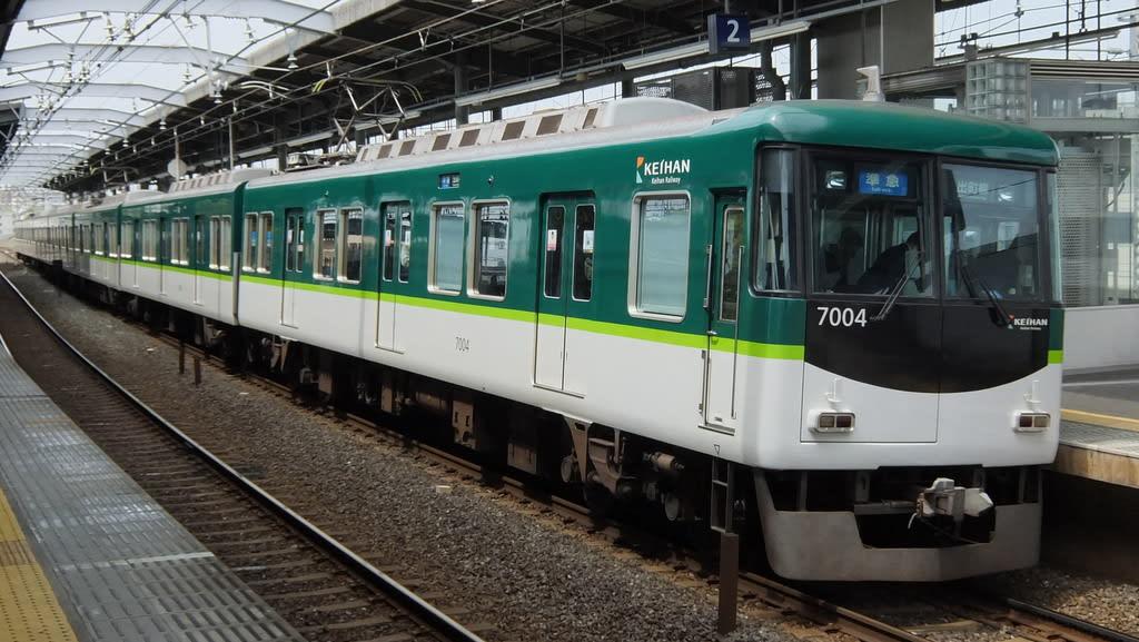 京阪7000系第4編成(7004F)