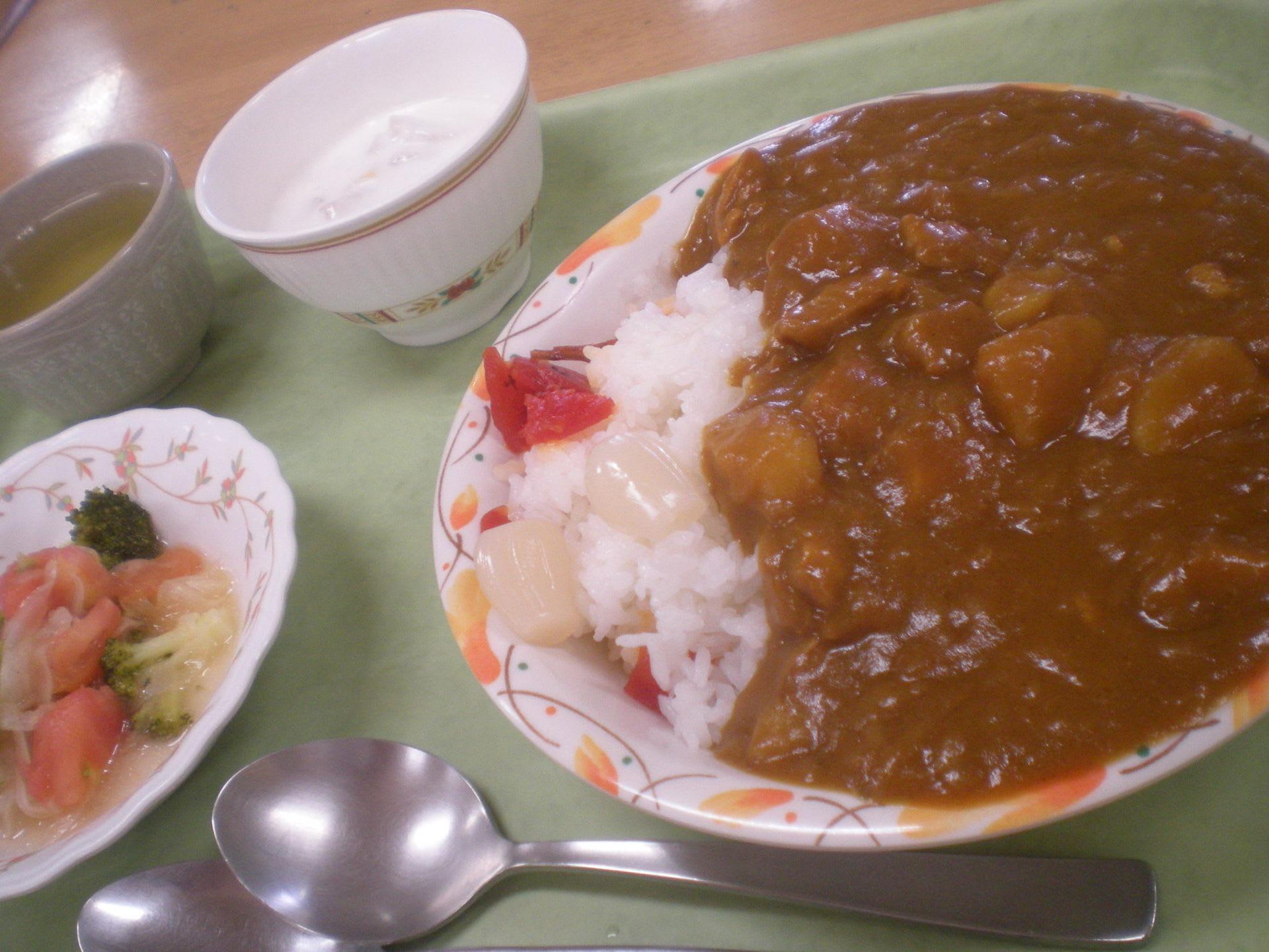 6月30日 福神漬とらっきょうのおかげでカレーライスが一段とおいしいです。