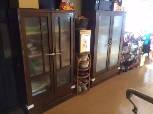 食器棚新調