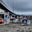 『北浜海岸』 開店休業