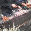 羊肉串(yang2 rou4 chuan4)