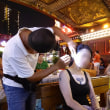 2016夏中国世界遺産の旅終了~成都の耳掻きおじさん