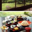 箱根の有形文化財建造物で著名な日本画を見て蕎麦会席を食す。