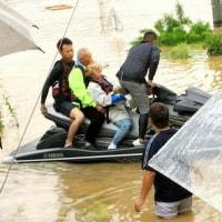 ニュース 社会 水上バイクで来たヒーロー15時間かけ120人救う